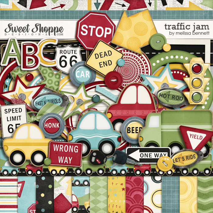 Traffic Jam by Melissa Bennett