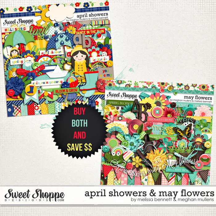 April Showers & May Flowers Bundle by Melissa Bennett and Meghan Mullens
