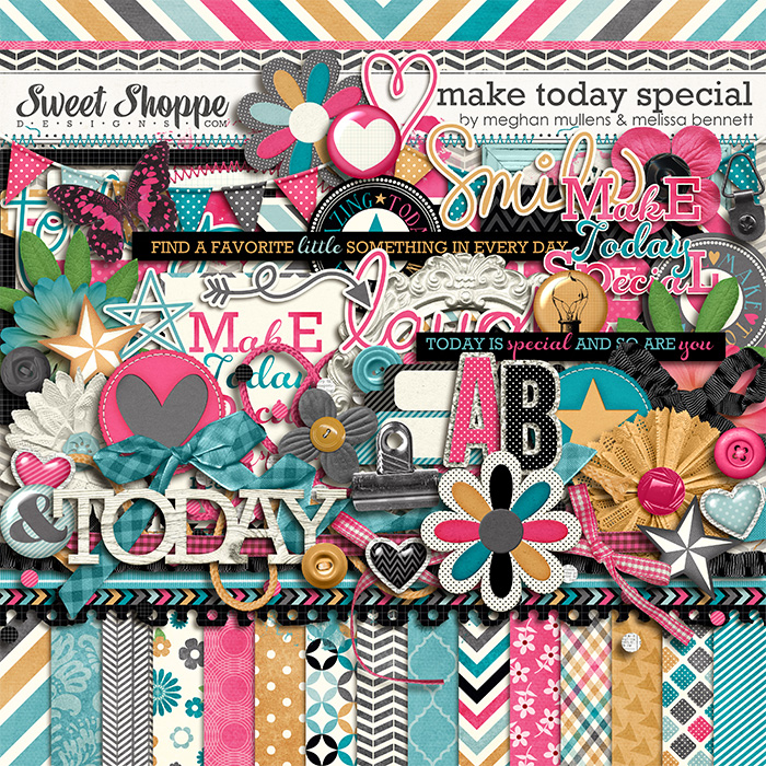 Make Today Special by Melissa Bennett & Meghan Mullens