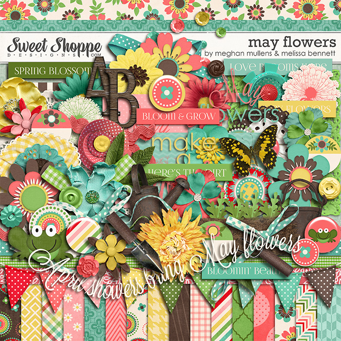 May Flowers by Melissa Bennett and Meghan Mullens