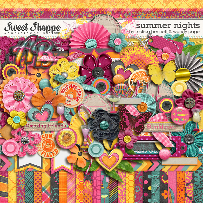 Summer Nights by Melissa Bennett & Wendy Page