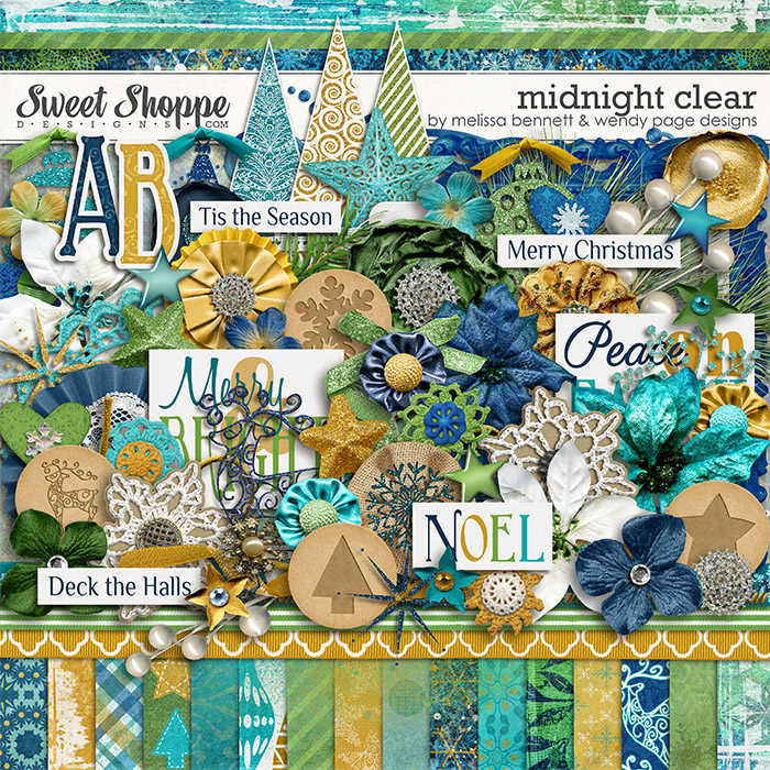 Midnight Clear by Melissa Bennett & Wendy Page Designs