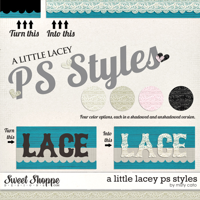 A Little Lacey PS Styles by Misty Cato