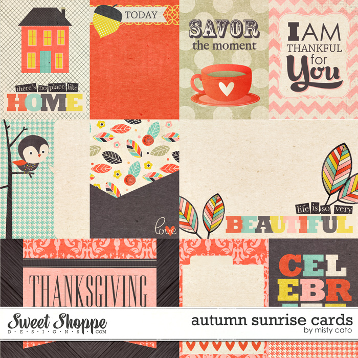 Autumn Sunrise Cards by Misty Cato