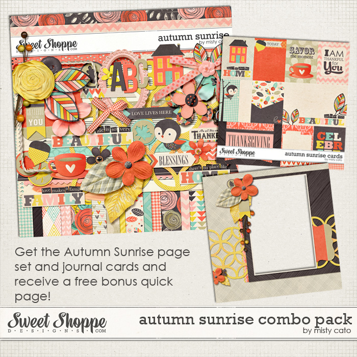 Autumn Sunrise Combo Pack by Misty Cato