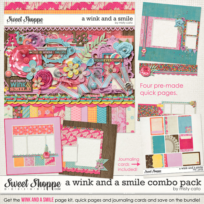 A Wink and a Smile Combo Pack by Misty Cato