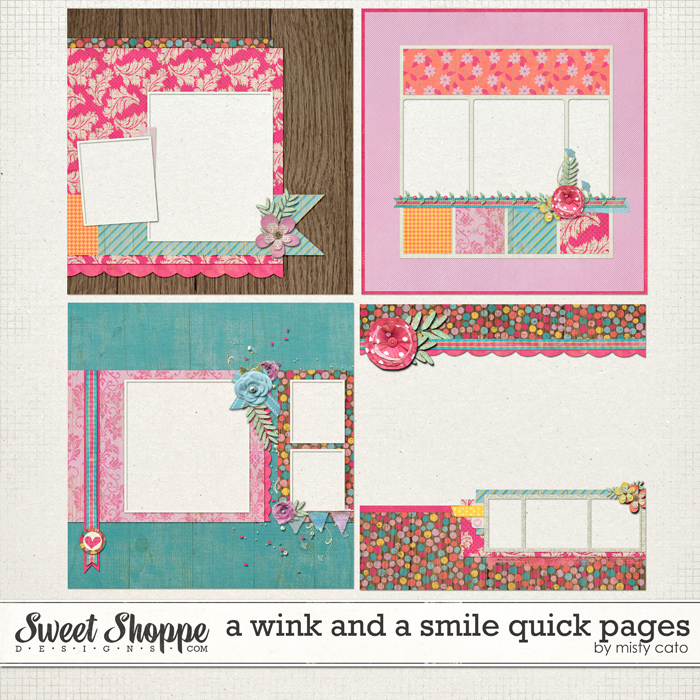 A Wink and a Smile Quick Pages by Misty Cato