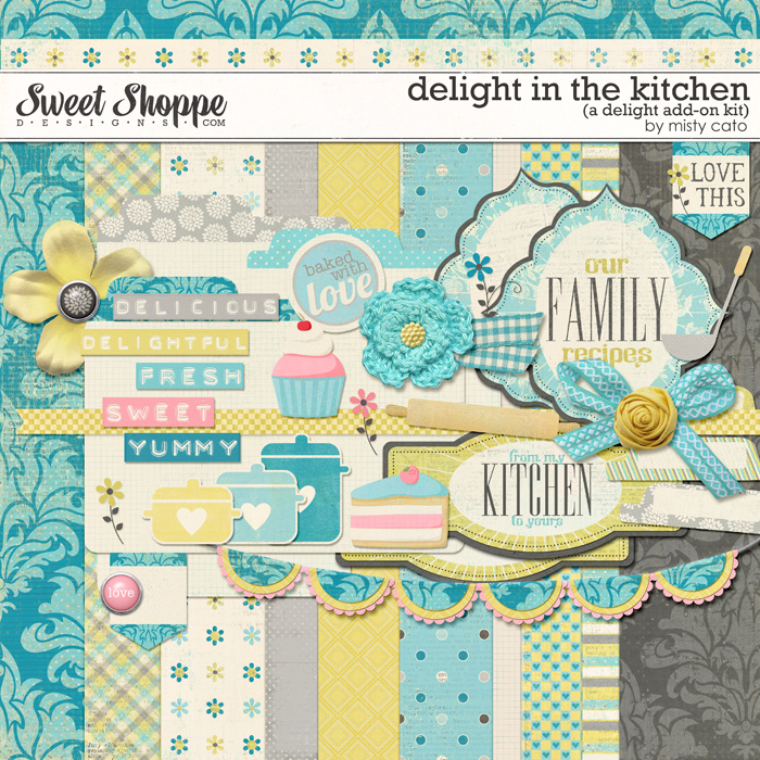 Delight In the Kitchen Add-On by Misty Cato