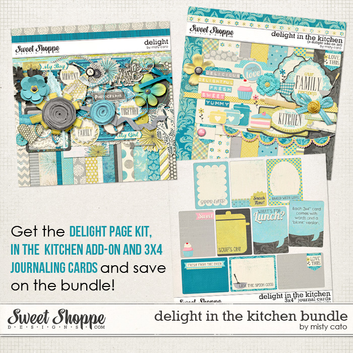 Delight in the Kitchen Bundle by Misty Cato