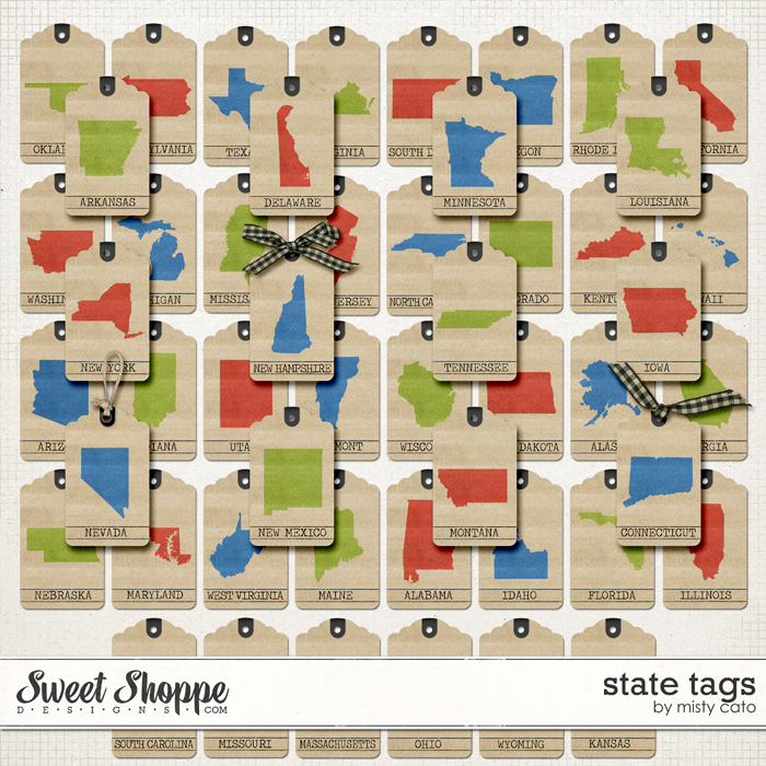 State Tags by Misty Cato