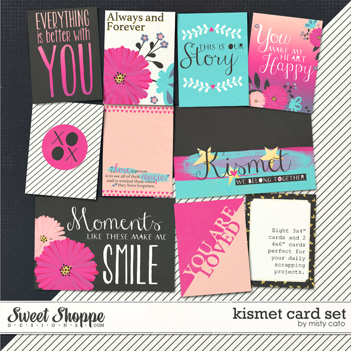 Kismet Card Set by Misty Cato