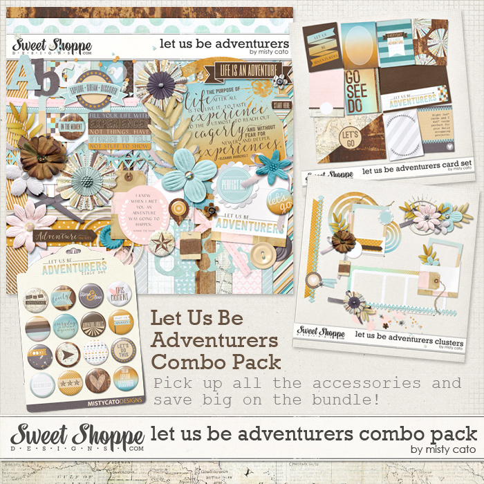Let Us Be Adventurers Combo Pack by Misty Cato