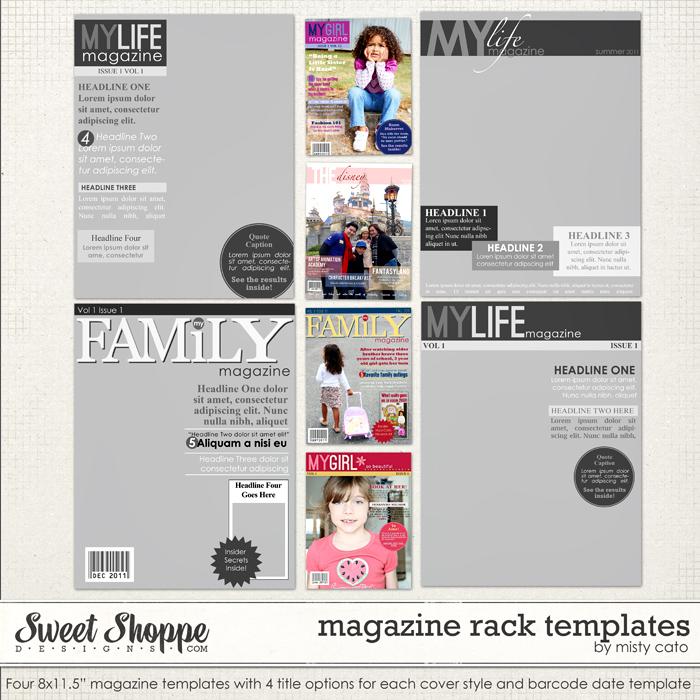 Magazine Rack Templates by Misty Cato