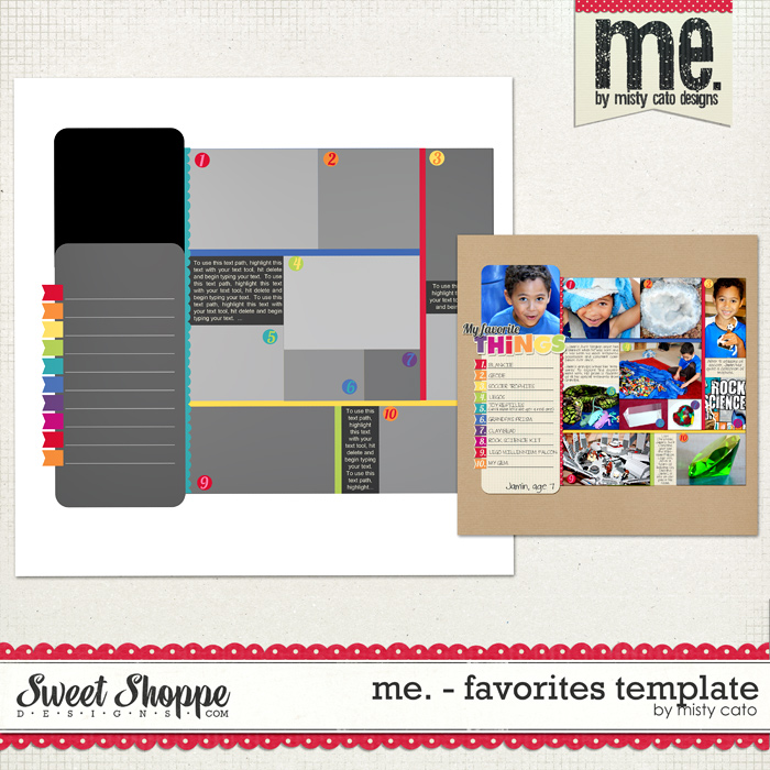 Me. - Favorites Template by Misty Cato