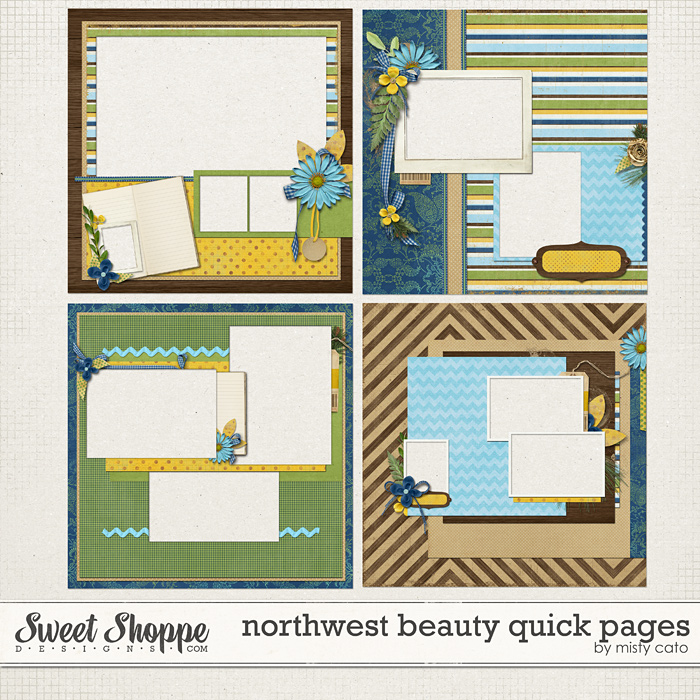 Northwest Beauty Quick Pages by Misty Cato