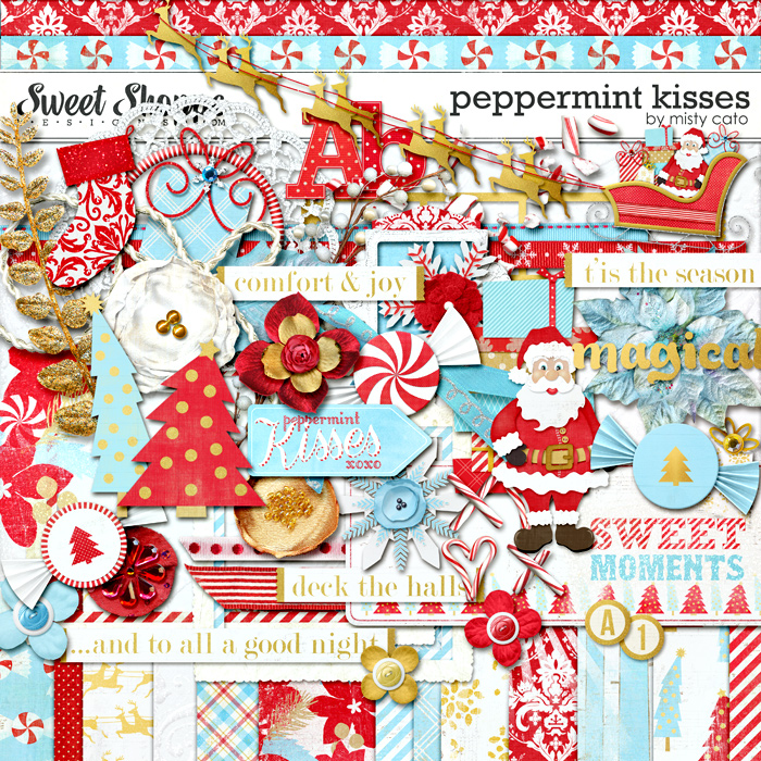 Peppermint Kisses by Misty Cato