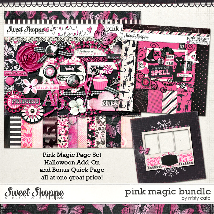 Pink Magic Bundle by Misty Cato