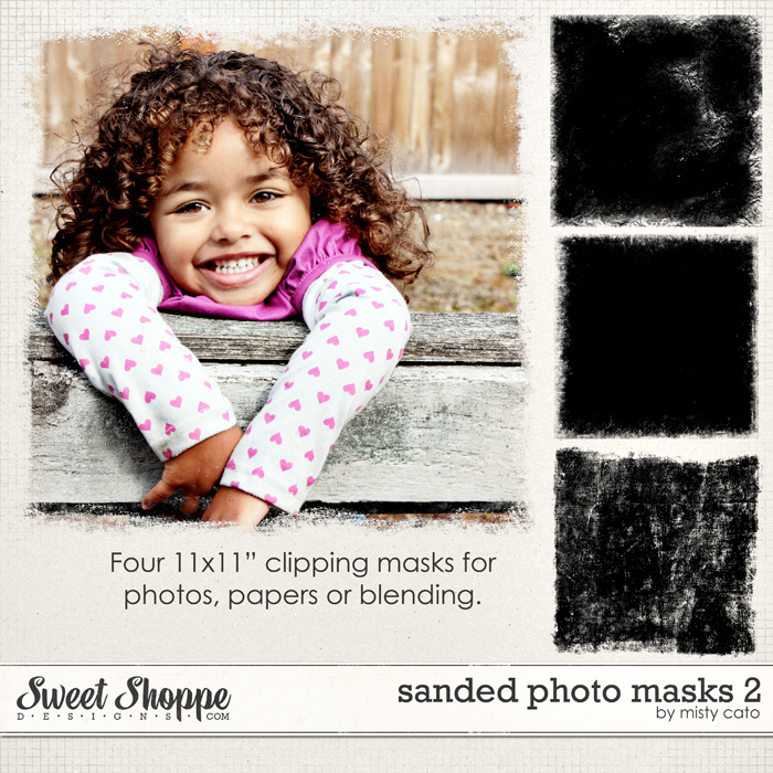 Sanded Photo Masks 2 by Misty Cato
