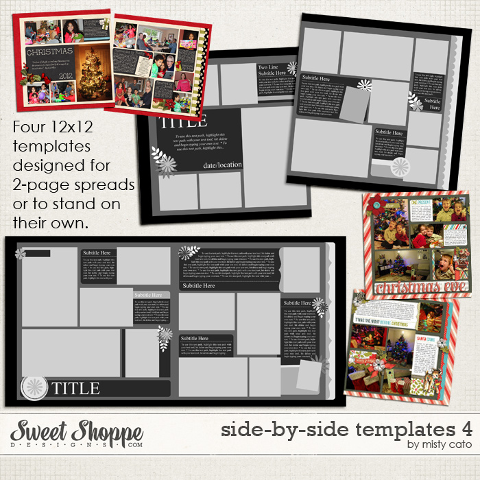 Side by Side Templates 4 by Misty Cato