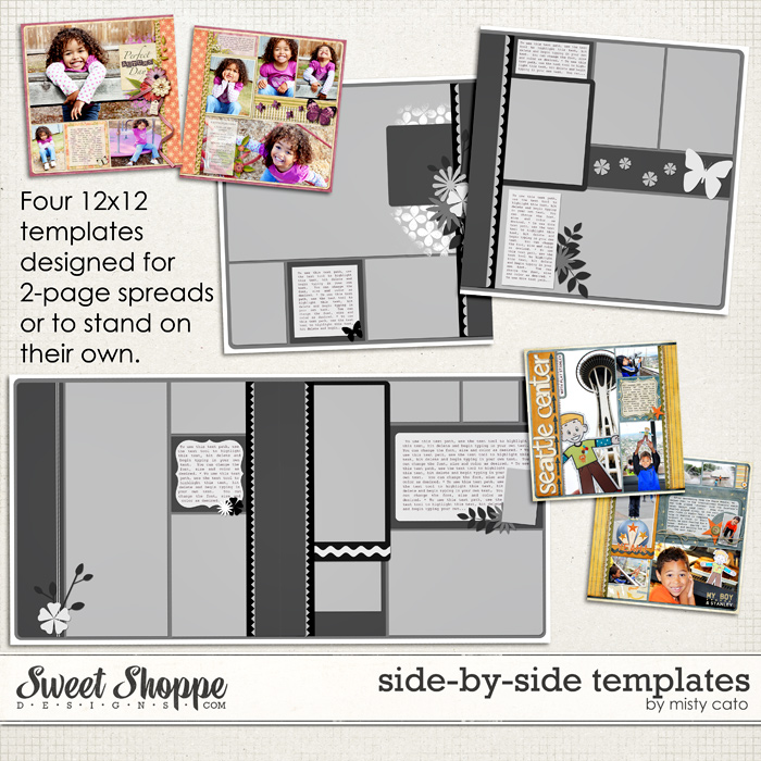 Side by Side Templates by Misty Cato