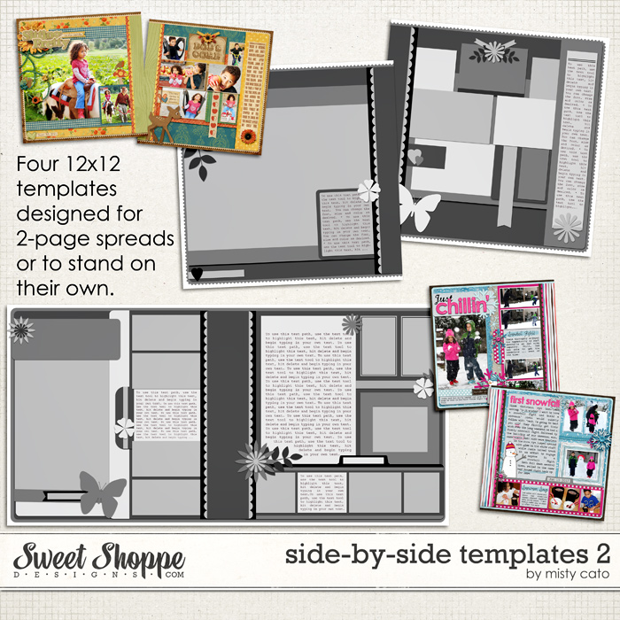 Side by Side Templates 2 by Misty Cato