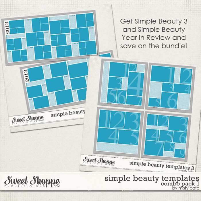 Simple Beauty Combo Pack 1 by Misty Cato