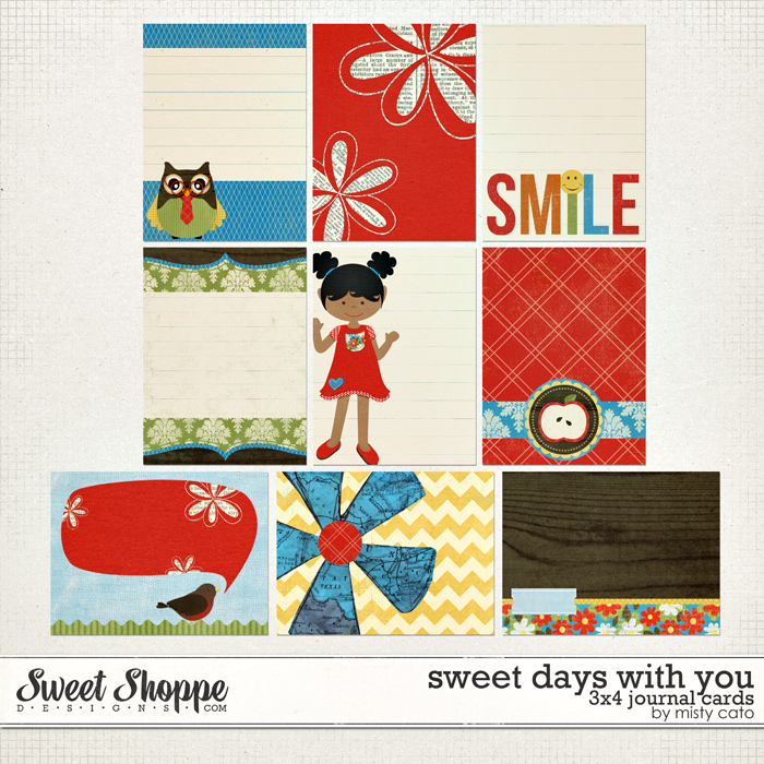 Sweet Days with You Cards by Misty Cato