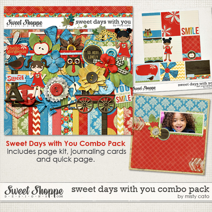 Sweet Days with You Combo Pack by Misty Cato