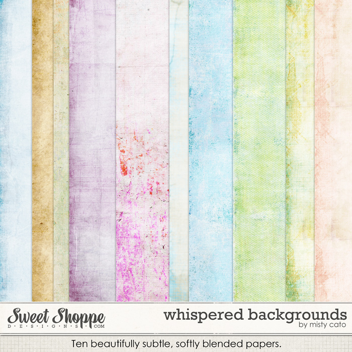 Whispered Backgrounds by Misty Cato