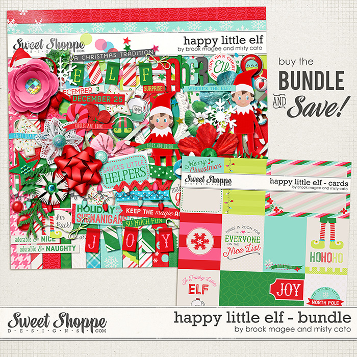 Happy Little Elf - Bundle by Brook Magee and Misty Cato