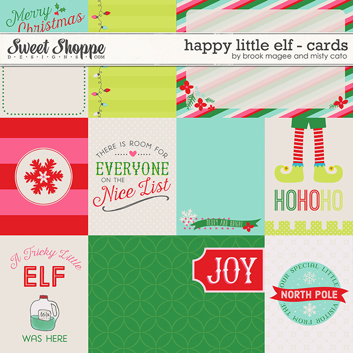 Happy Little Elf - Cards by Brook Magee and Misty Cato