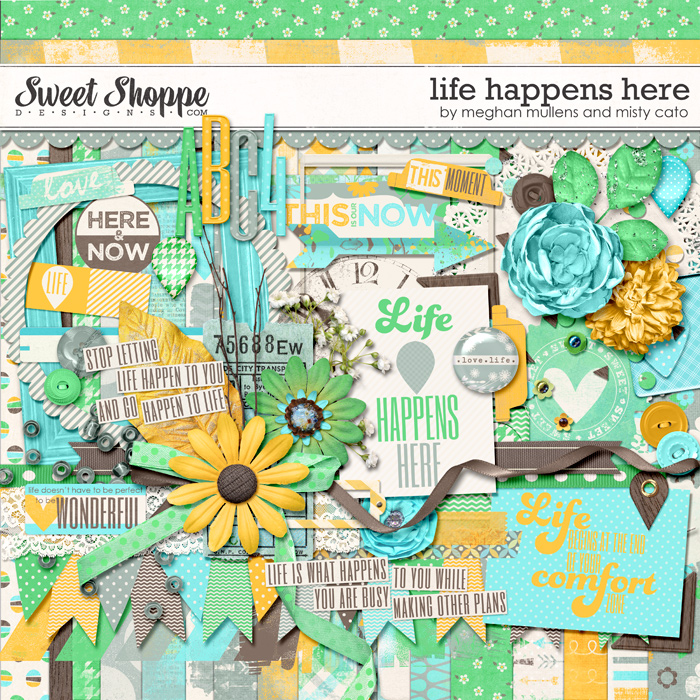 Life Happens Here by Misty Cato & Meghan Mullens