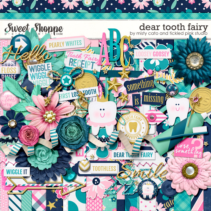 Dear Tooth Fairy by Misty Cato & Tickled Pink Studio