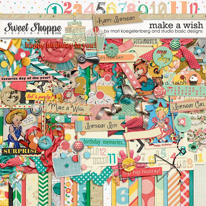 Make A Wish Kit by Studio Basic and Mari Koegelenberg