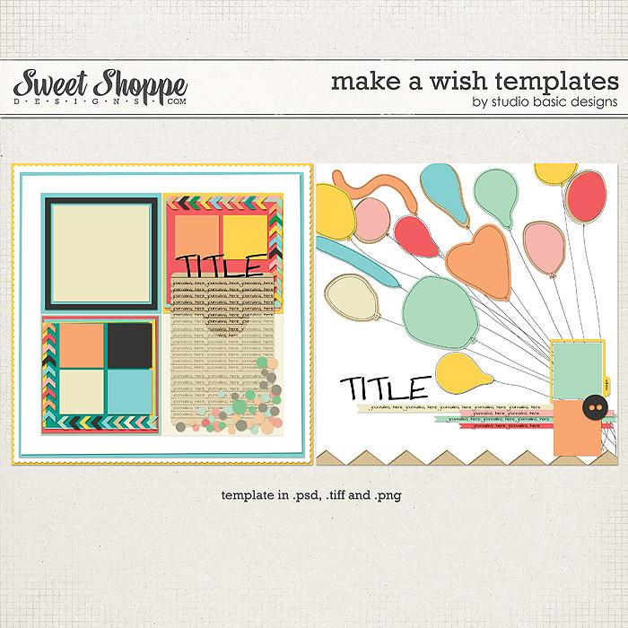 Make A Wish Templates by Studio Basic