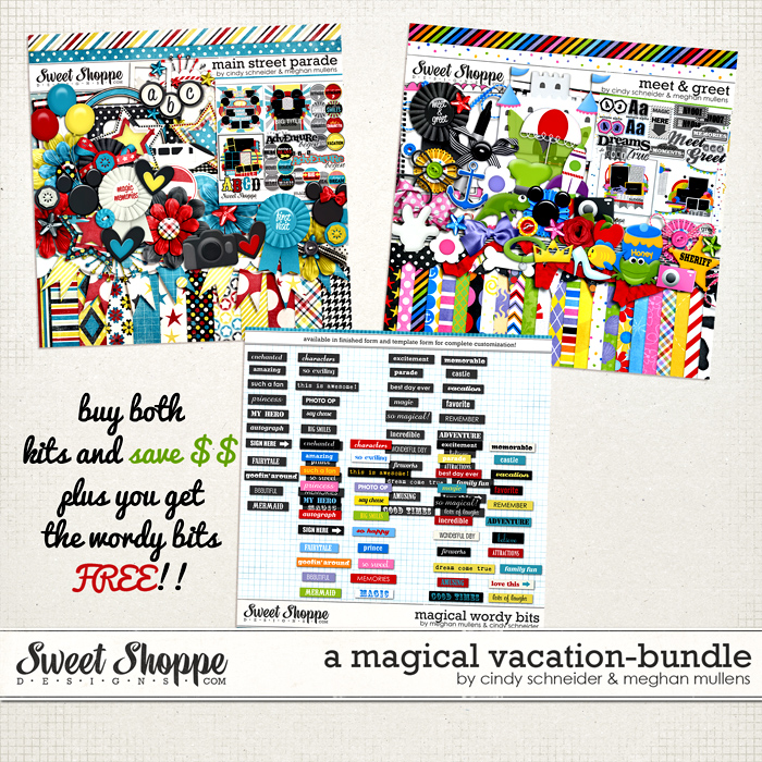 A Magical Vacation Bundle by Cindy Schneider & Meghan Mullens