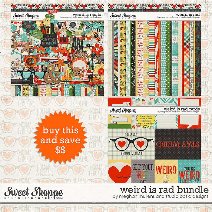 Weird is Rad-Bundle by Meghan Mullens & Studio Basic Designs