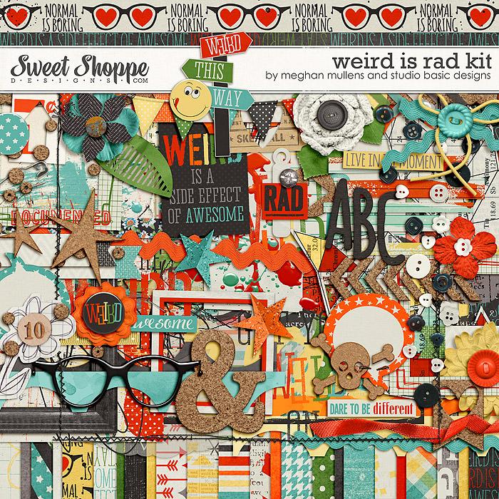 Weird is Rad-Kit by Meghan Mullens & Studio Basic Designs
