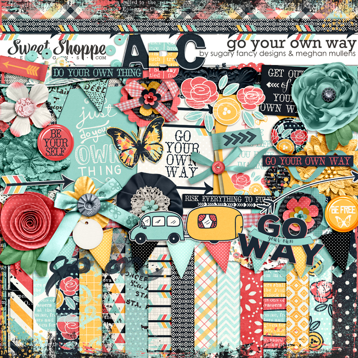 Go Your Own Way by Meghan Mullens & SUgary Fancy Designs