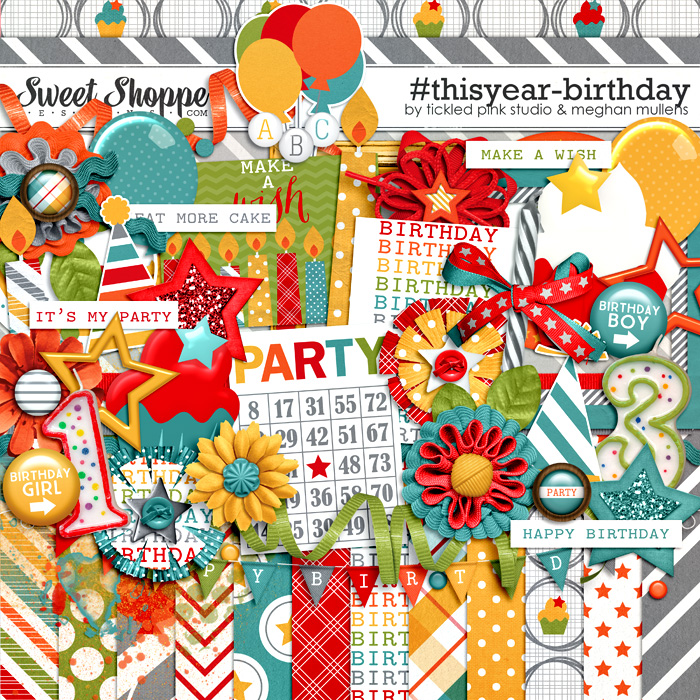 #thisyear-Birthday by Meghan Mullens & Tickled Pink Studio