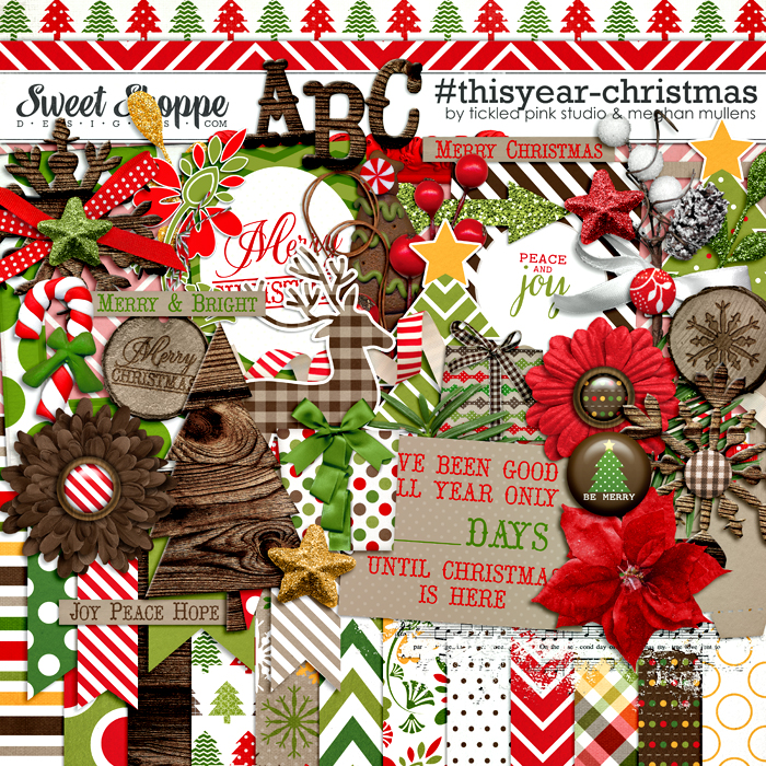 #thisyear-Christmas by Meghan Mullens & Tickled Pink Studio