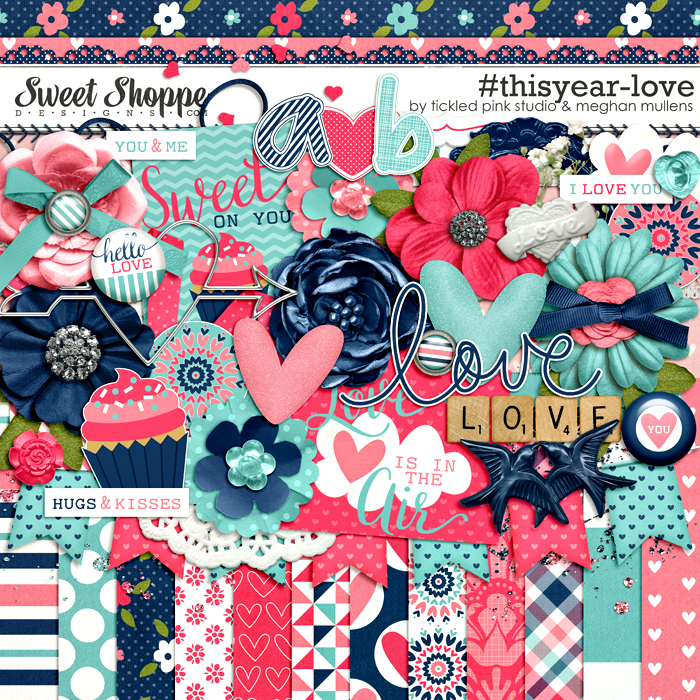 #thisyear-Love by Meghan Mullens & Tickled Pink Studio