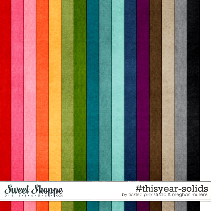 #thisyear-Solids by Meghan Mullens & Tickled Pink Studio
