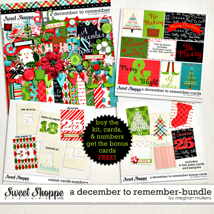 A December To Remember-Bundle by Meghan Mullens