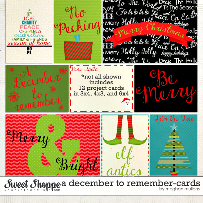A December To Remember-Project Cards by Meghan Mullens