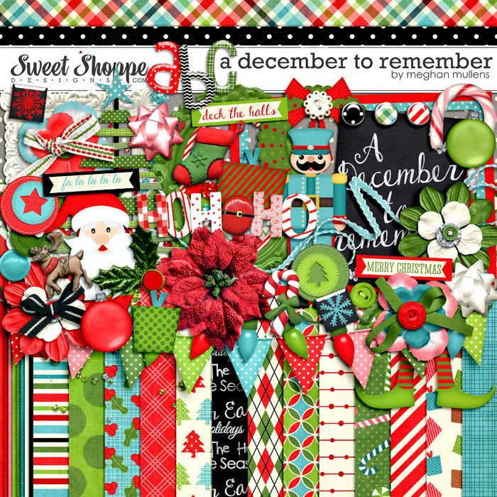A December To Remember-Kit by Meghan Mullens