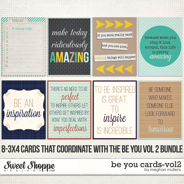 Be You - Cards Vol 2 by Meghan Mullens