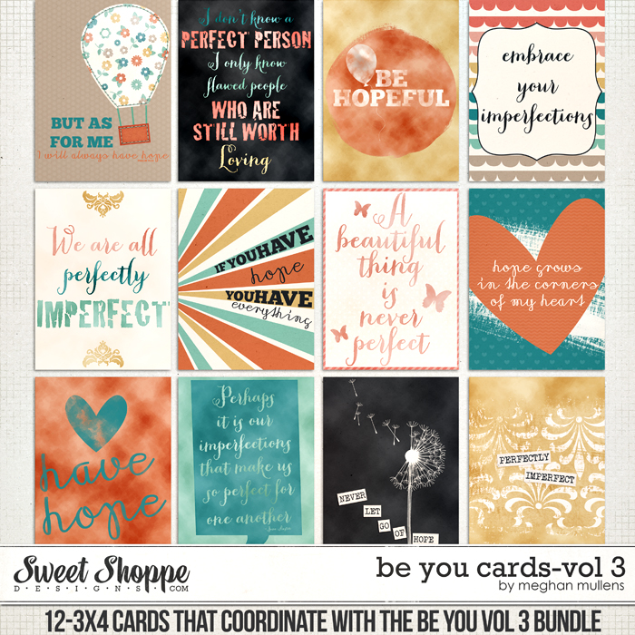 Be You - Cards Vol 3 by Meghan Mullens