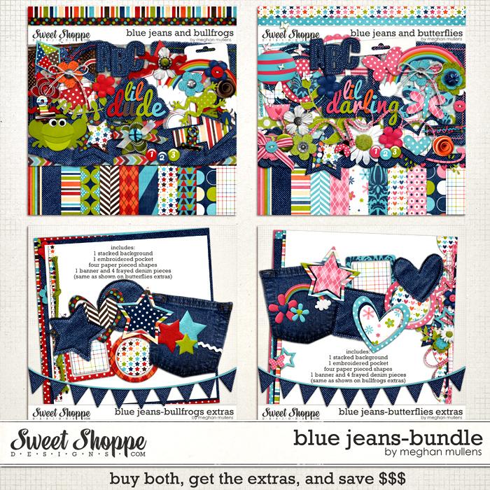 Blue Jeans Bundle-by Meghan Mullens