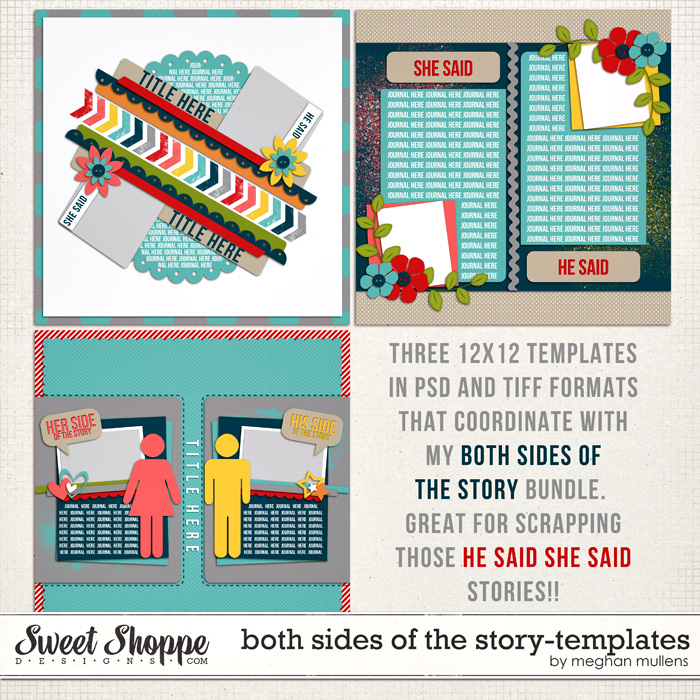 Both Sides Of The Story - Templates by Meghan Mullens